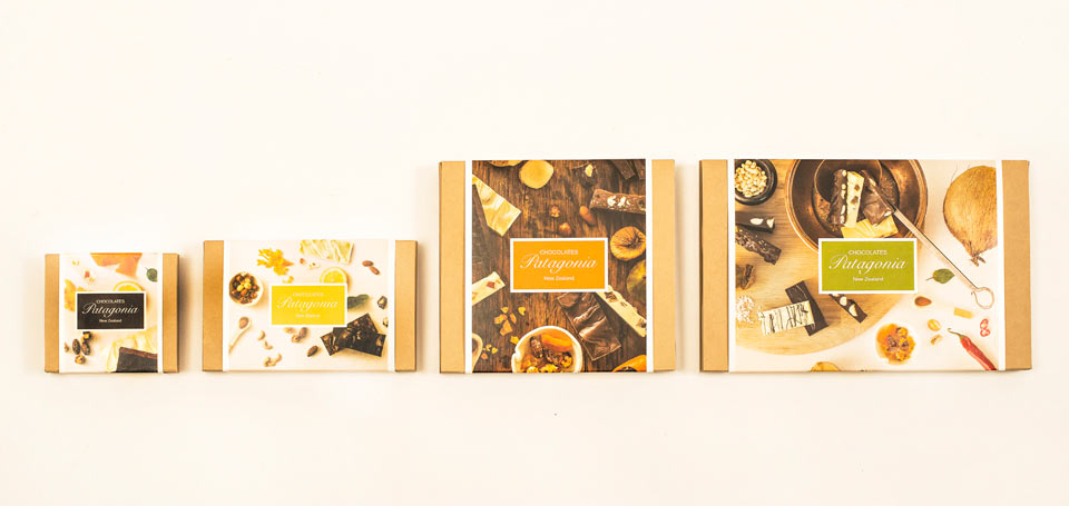 Chocolate Bars Gift Boxes Banner