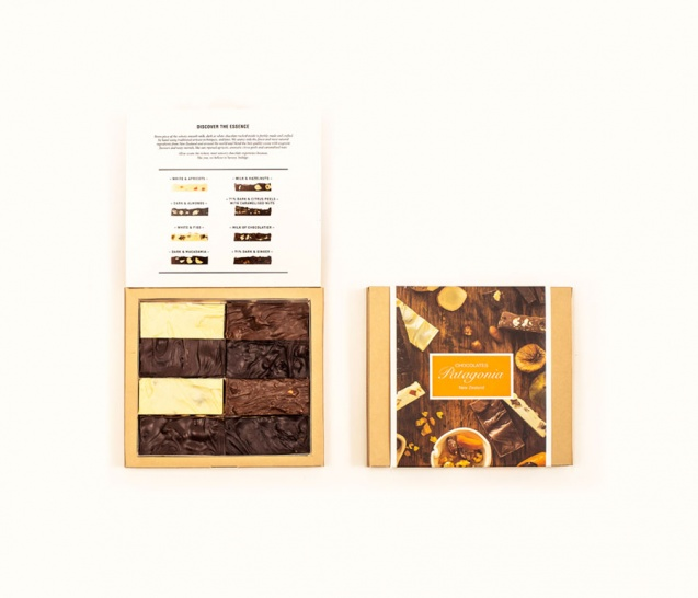 8 Piece Chocolate Bars Gift Box 3