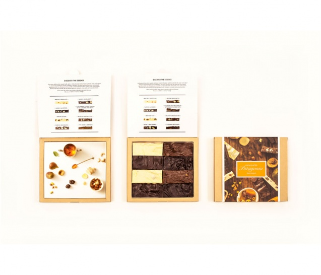 8 Piece Chocolate Bars Gift Box 4