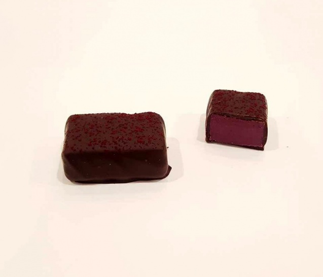 Chocolate Boysenberry Truffle New