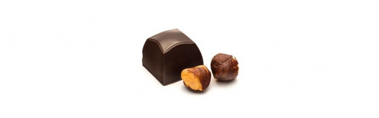 Dark Chocolate & Hazelnut Crème Bonbon