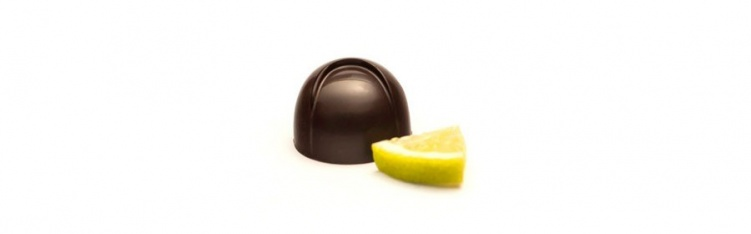 Dark Chocolate & Lime Bonbon