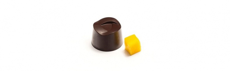Dark Chocolate & Mango Bonbon
